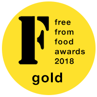 Free from food award 2018
