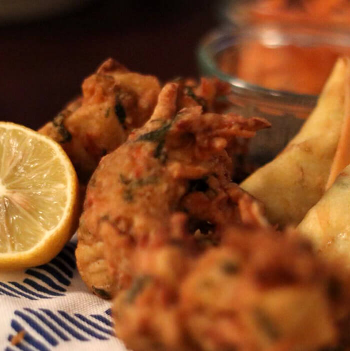 Glutenfree Dairyfree & Wheat free Bhajis - allergen free pakoras and bhajis