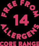 corerange 14 allergens